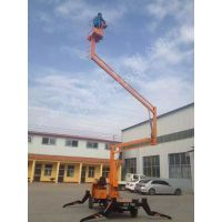 浙江14米曲臂式升降机多少钱|自行式升降平台|物业维修高空作业平台