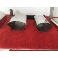 苏州订做不锈钢拉丝管,304椭圆镜面,扇形管