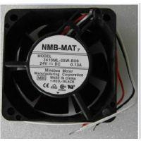 全新NMB-MAT风机 风扇 2410ML-05W-B59 6025 24V 报警信号