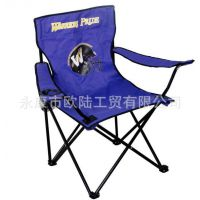 【厂家直销】永康欧陆折叠休闲沙滩椅/扶手椅/休闲折叠椅/月亮椅