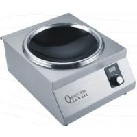 粤菜馆专用电磁台式凹面小炒炉厂家亲和力牌 QHL-TAL5X主板封胶等六大专利技术