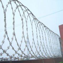 安平旺来供应刺绳护栏网 刺铁丝隔离栅 刺绳隔离栅