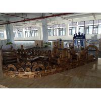 广东深圳碳化积木贝尔康幼教设施幼儿园玩具幼儿园积木