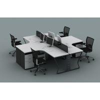 西安办公桌 员工办公桌 推荐欧乐办公家具 4006608869
