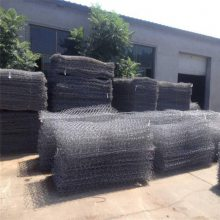 防汛铅丝石笼 铅丝石笼网垫 格宾网编织