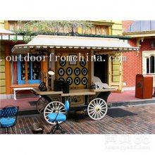 宣城商业街贩卖车,户外景区移动售货亭,游乐园饮料售卖推车