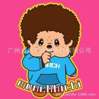 浙江义乌烫画厂 供应流行外贸儿童卡通烫画 卡通蒙奇奇趴趴熊烫画