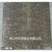 佛山发源地陶瓷,黑色普拉提600*600抛光砖瓷质地面砖工程出口瓷砖