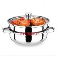 蒸锅 不锈钢二层双层多用专用汤锅火锅锅包邮加厚全能电磁炉通用蒸锅