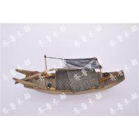 供应高大上纯手工打造木船模型热销