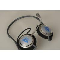 库存电脑音乐耳机 头戴式带麦克风 立体声可爱台式耳机批发