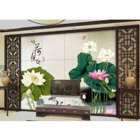 广东瓷砖背景墙 佛山陶瓷彩印机 陶瓷喷墨UV打印机