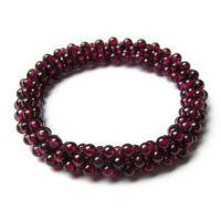 天然石榴石/红玛瑙多层女士手链/2012年本命年必备水晶手链送女友