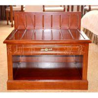 欧式床头柜 实木白色烤漆床头柜特价 床头柜居家法式床