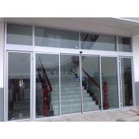白沙自动玻璃门维修,自动门机组 单开平开门18027235186