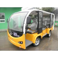 厂家供应好力电动观光车海豚11座开放式不带门电动游览车SZHL-T11