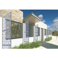 雕刻铝单板室外造型装饰幕墙||雕花图案外墙装修铝单板