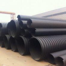 洛阳关林排污用聚乙烯螺旋钢带波纹管
