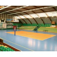 排球场专用地胶 英利奥地胶 大学生排球比赛指定地胶 星润地胶
