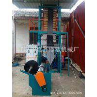 江阴市隆升橡塑机械厂专业生产高品质.塑化好.亮度高的八折连卷垃圾袋吹膜机.