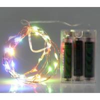 厂家直销电池盒led灯 LED铜线灯圣诞灯节日彩灯 装饰灯串 LED铜丝灯 RSHOWER
