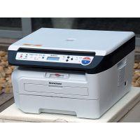 南京联想7650打印机打印字迹偏淡故障硒鼓灌墨粉