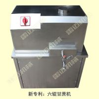 小型鲜果榨汁设备【甘蔗榨汁机】