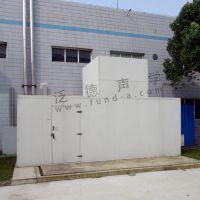 拜耳医药热泵机组噪声治理工程 热泵机组隔声罩工程
