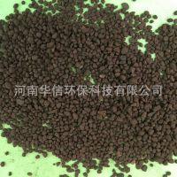 高效锰砂滤料生产基地 强度高耐磨损锰砂滤料