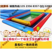 郑州哪里有卖充气沙滩池?哪有充气沙滩池生产厂家?儿童充气玩具-沙滩池