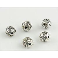 DIY纯银带环管配件加工生产批发 珠宝首饰来图来样加工定制工厂