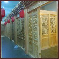 北京厂家四合院装修施工 四合院门窗 中式茶楼装饰装修
