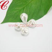 晨珠曦 仿珍珠批发 仿珍珠厂家供应塑胶珠 玻璃珍珠 贝壳珠