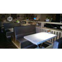 天津卡座餐厅卡座沙发