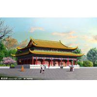 寺庙效果图,寺院效果图价格多少钱?