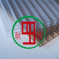 供应阳光板工程专用PC三层阳光板温室节能超透明pc阳光板大棚材料厂家