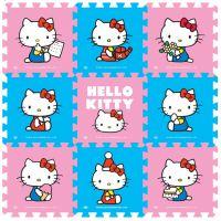 2014新品明德EVA拼图凯蒂猫泡沫地垫hellokitty卡通婴儿童爬行垫