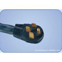 【企业集采】优质供应四芯UL美标电源线,美国标准四极插头