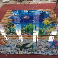 家装个性定制瓷砖玻璃背景墙uv平板打印设备大面幅精工打印机厂家