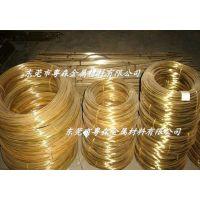 供应:优质无铅H65铆钉黄铜线 半硬C2720黄铜线 H65拉花黄铜棒
