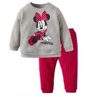 外贸批发 长袖卫衣儿童睡衣童装内衣加厚纯棉家居服套装宝宝 冬