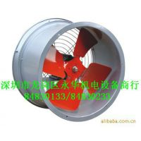 九洲SF4G-2-0.9KW-380V低噪音管道风机壁式强力轴流风机排风机