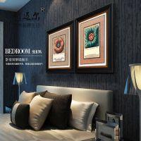 欧式奢华古典图案装饰画 样板房***有框画 美式墙壁挂画油画批发