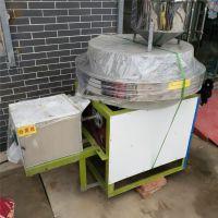 鼎信优质杂粮石磨机 半自动面粉石磨 复古式磨面设备