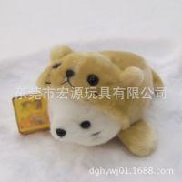 新款热销毛绒玩具海狮,海洋生物海狮公仔,定做填充毛绒变身海狮