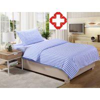 南通晓德  医院床单被罩  加厚涤棉床品  医用病房床单被套三件套