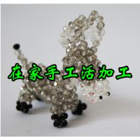 天然紫水晶925银手链青金石手链DIY饰品批发 手工活外发加工公司
