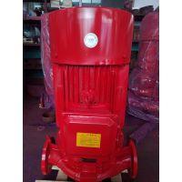 上海单级消防泵厂家供应XBD15.0/45-125L喷淋供水泵,消火栓供水泵