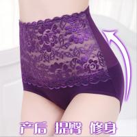 蒂億曼高腰收腹裤女士内裤 三角内裤 性感无痕舒适提臀内衣女