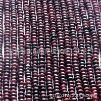 会员*** 进口天然石榴石盘珠半成品 散珠DIY配件 限量供应